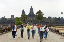 Foreign tourists to Cambodia down 74 per cent in nine months