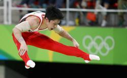 Japanese gymnast Uchimura tests positive for COVID-19 ahead of key meet