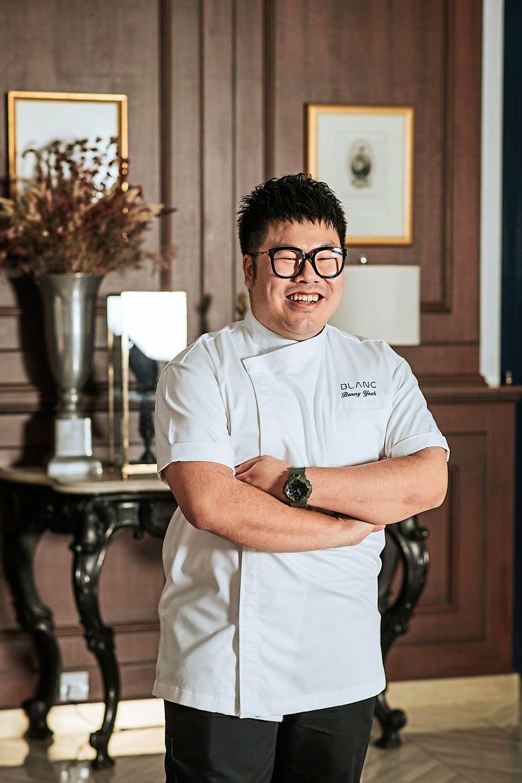 Chef de cuisine Yeoh is part Peranakan.