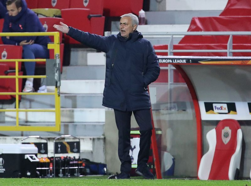 Football Mourinho Unimpressed By Fringe Players In Antwerp Defeat The Star