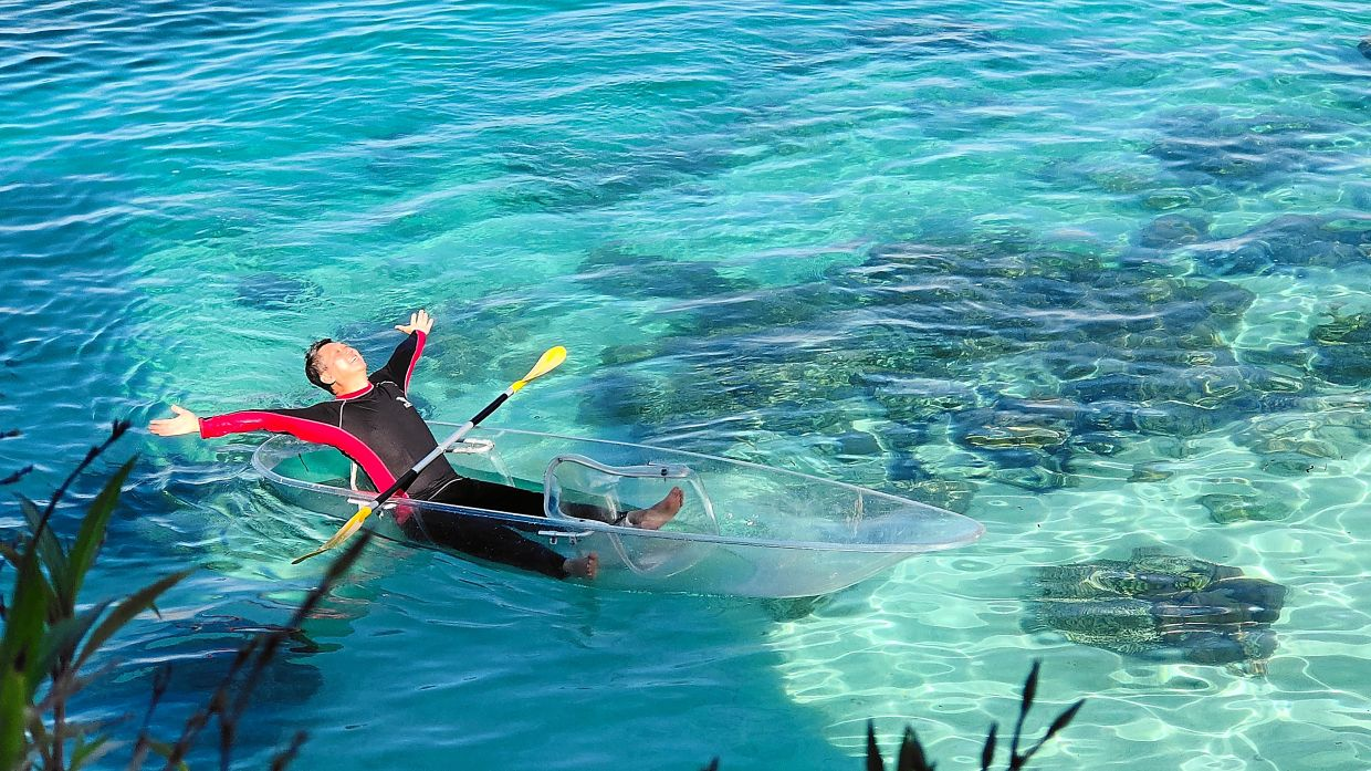 The island of Mabul is one of the most beautiful islands in Sabah, and the writer hopes that more people will visit the place once it is safe to do so.