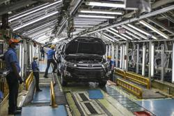 Toyota global sales inch higher spurred by demand in China, US