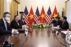Pompeo wraps up tour of Asia in Vietnam