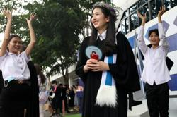 Brave move: Protesting Thai students boycott royal graduation day