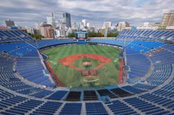 Japan tests virus measures at near-full baseball stadium