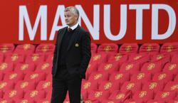 Man United's Solskjaer pleased with progress ahead of milestone game