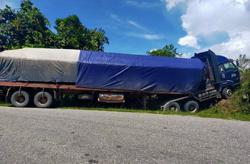 Lorry driver killed after vehicle smashes into tree branch in Beluran