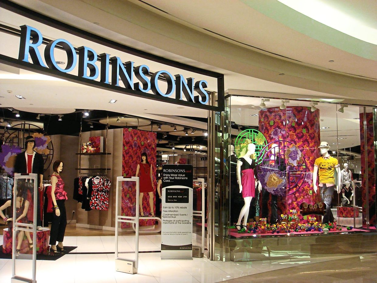 Hard hit: The surge in Covid-19 cases over the past few weeks has affected the retail sector badly, forcing players like Robinson to close shop.