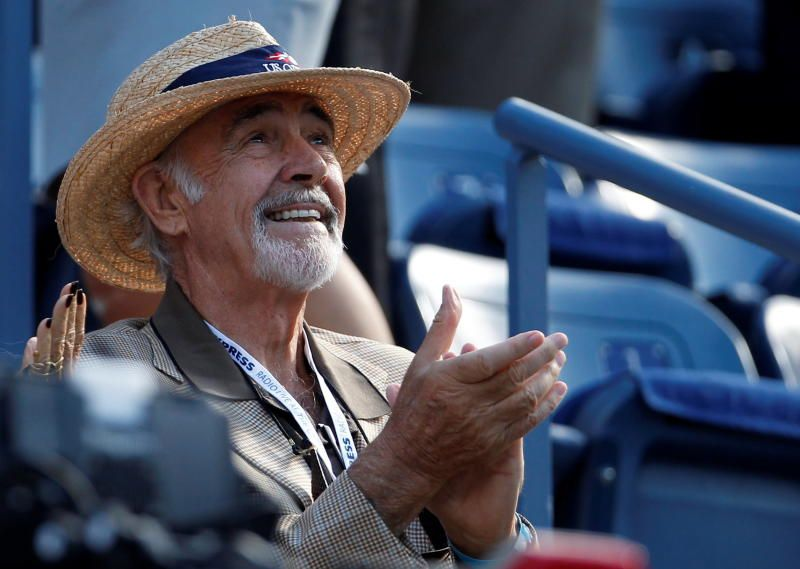 Connery at the 2012 US Open (tennis) final. - Reuters