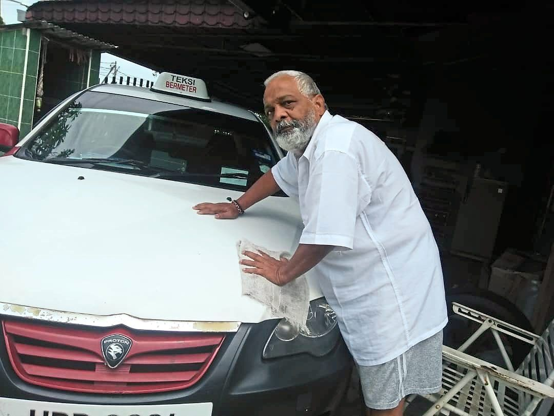 Satkunaseelan is  thinking of surrendering his taxi to the rental company by the end of this year as the car has become a liability for him.