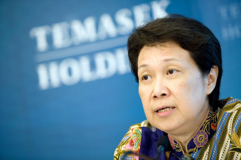 Ho Ching - the chief executive officer of Temasek Holdings Pte. Business magazine Fortune ranked Temasek's Ho Ching the 20th most powerful woman outside the United States earlier this month. - Bloomberg