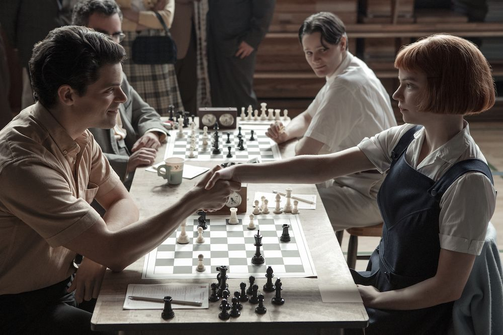 'The Queen's Gambit' has received positive reviews from critics.