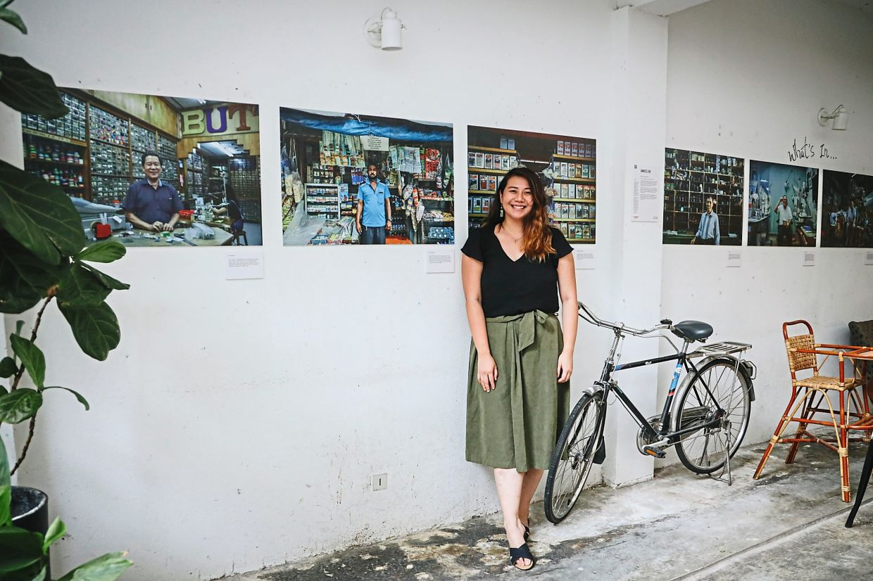 In her 'Faces Of The Heartlands' postcard project, Teo has also added information and addresses so that people can support these traders and vendors. Photo: Annice Teo Ann Lyn