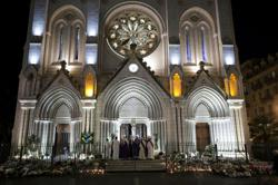 French church in Nice hit by deadly attack seeks solace in mass