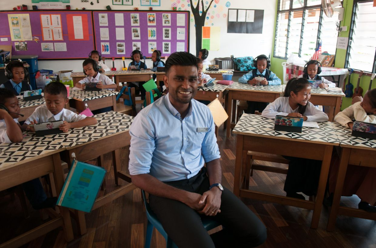 Samuel Isaiah shortlisted for Global Teacher Prize