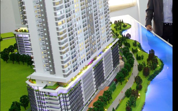 It said the land was intended for commercial development, subject to the approval of the relevant authorities. (Model of one of the projects by Tadmax - Filepic)
