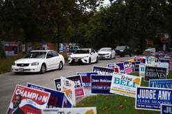 Texas drive-through voting upheld as judge blocks Republican bid to reject ballots