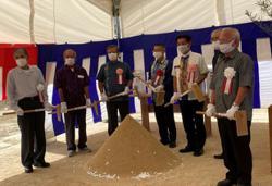 Groundbreaking ceremony for Four Seasons Okinawa