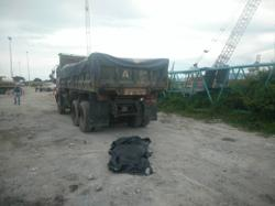 Lorry driver killed by another lorry at Butterworth container terminal