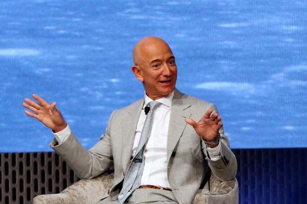 Bezos's Amazon.com Inc is trying to block the transaction by Ambani's Reliance.