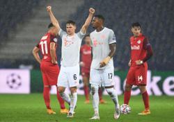 Bayern crush Salzburg 6-2 to make it 14 wins in a row