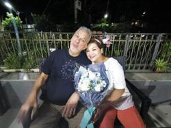 Hong Kong actress Maria Cordero's husband of 21 years dies
