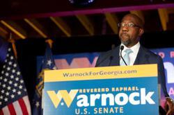 Georgia runoff gives new life to U.S. Senate bid of pastor of Martin Luther King's church