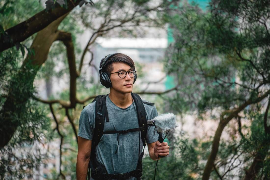 In Hong Kong, Kan Hei-chun runs an online sound library archiving the natural soundscape he recorded from forests across the densely packed city. Photo: Kan Hei-chun