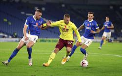 Brighton held by Burnley in dour goalless draw