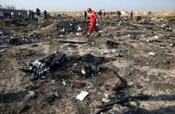 U.N. aviation agency asks Iran to expedite investigation of downed jet