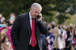 Trump chief of staff Mark Meadows diagnosed with Covid-19