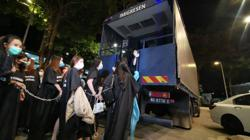 Immigration Dept detains 27 foreigners in entertainment outlet raid