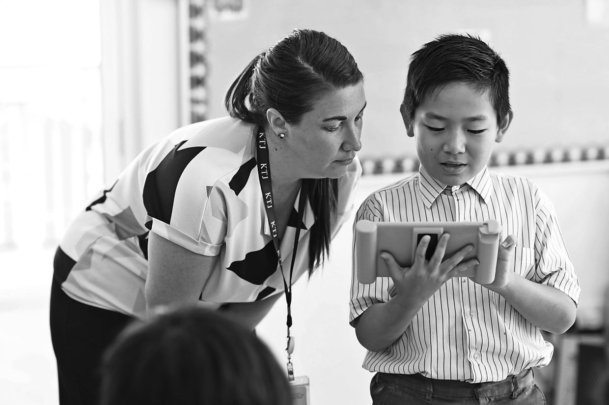 The provision of technological devices and online learning tools has recently been enhanced at KTJ Primary