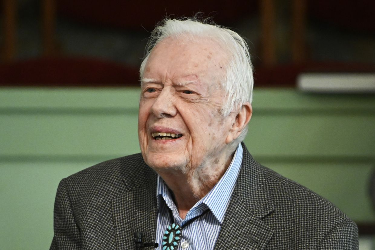 Ronald Reagan made Jimmy Carter (pix), a Democrat, a one-term president in the 1980 election. Photo: AP