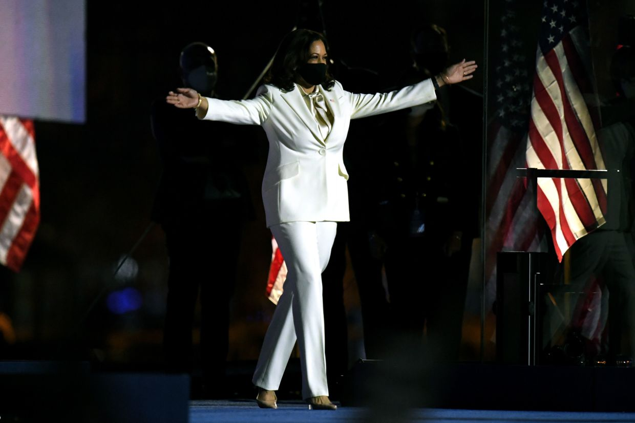 Vp Elect Kamala Harris I Won T Be The Last Woman In The White House The Star