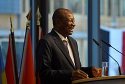 Guinea court confirms President Conde's re-election for third term