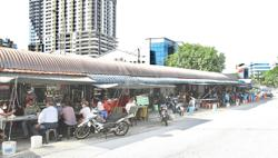 Hawkers' reluctance to move delays upgrade