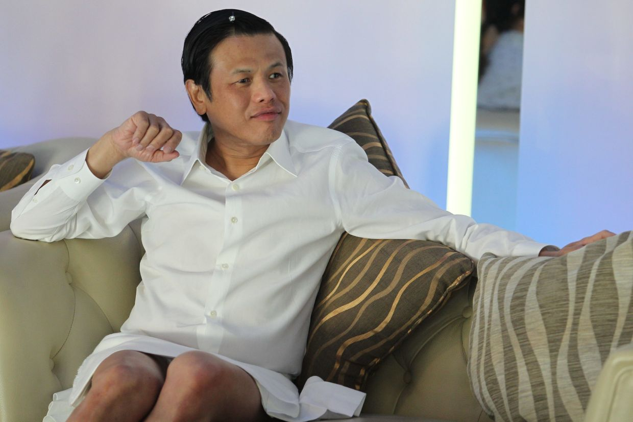 Datuk Zang Toi is turning to timeless designs for his latest collection. Photo: The Star/GLENN GUAN/