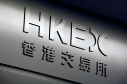 Hong Kong stock exchange operator 3Q profit jumps 52%