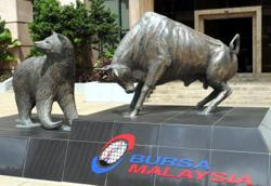 KLCI closes off lows, Public Bank, Hong Leong Bank advance
