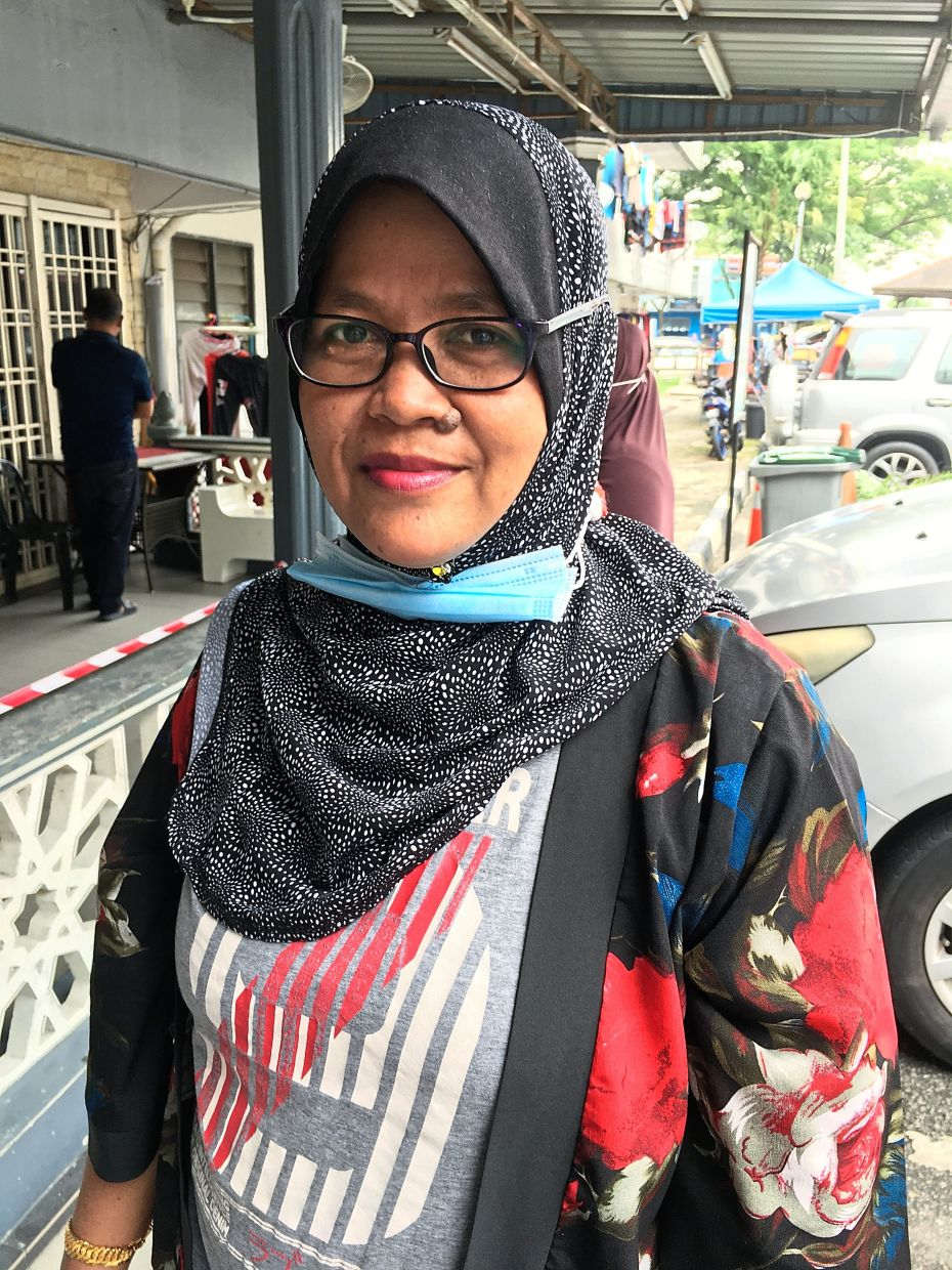 Rohani says the financial aid is timely as her husband can no longer go out to sea to catch fish because of the monsoon season.