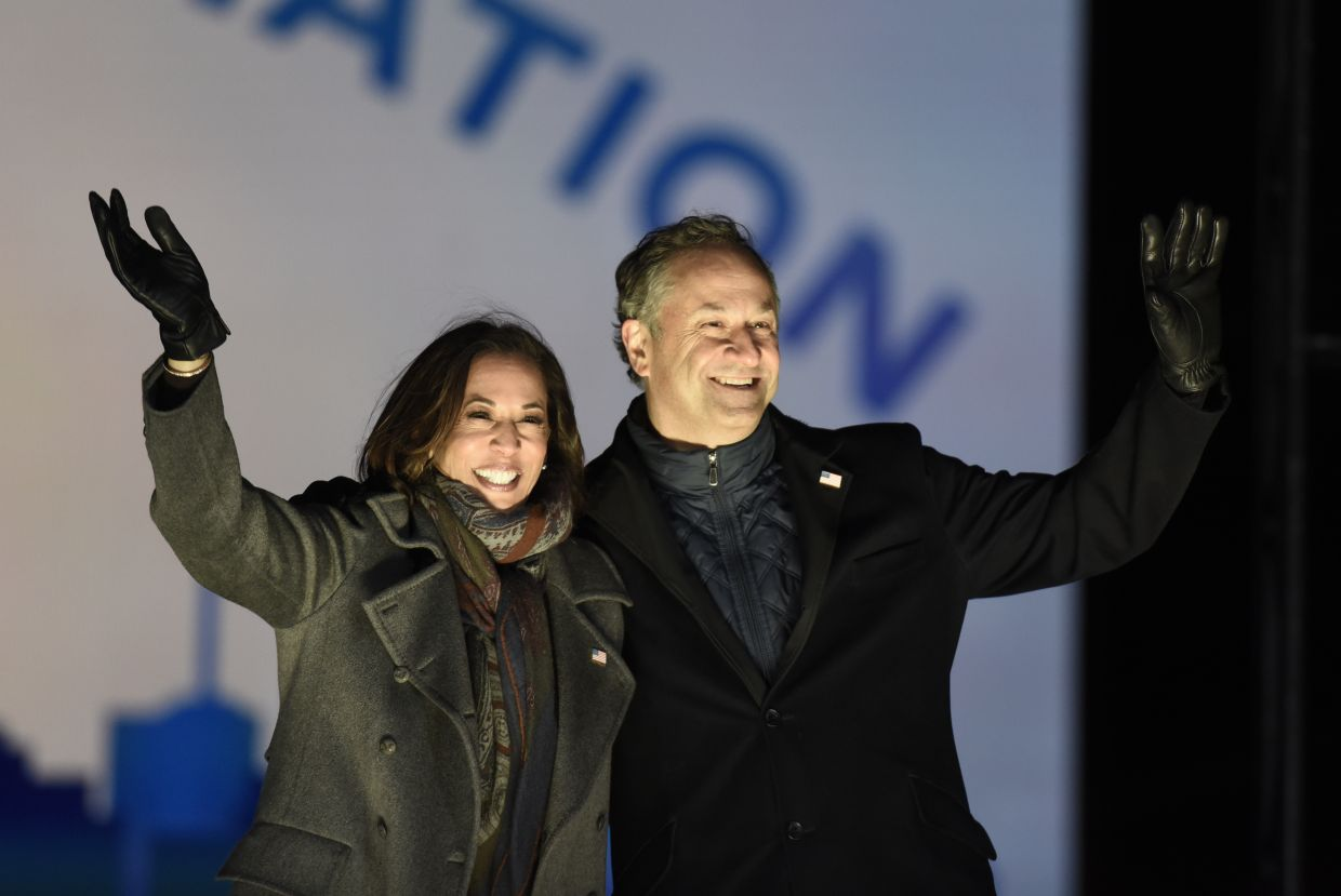 Breaking Stereotypes Kamala Harris Husband Quit His Job To Support Wife The Star