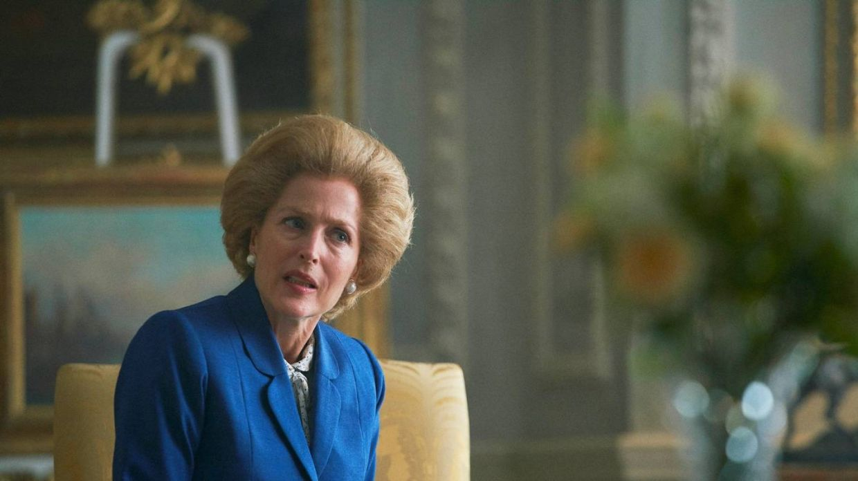 Besides Princess Diana, the fourth season also sees the introduction of Margaret Thatcher on the show.