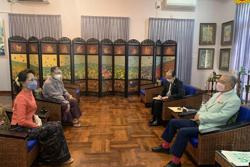 Aung San Suu Kyi meets with heads of Nippon Foundation, Myanmar Election Observation Team