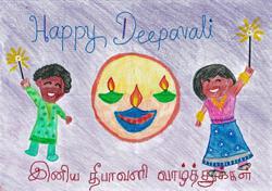 Starchild: Happy Deepavali greetings from Malaysian children