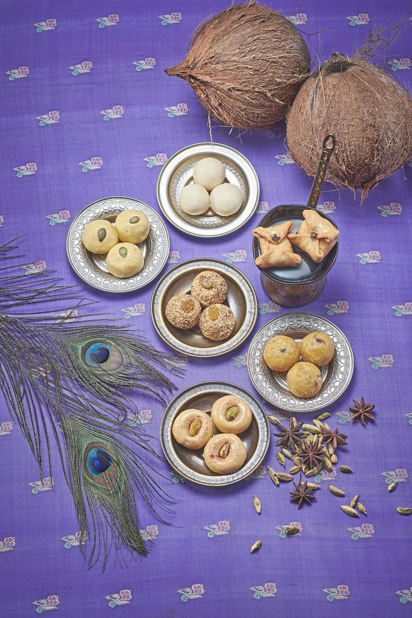 Lemon Garden 2 Go offers a selection of Indian sweets such as Besan Ladoo, Doodh Peda and Labang Latika.