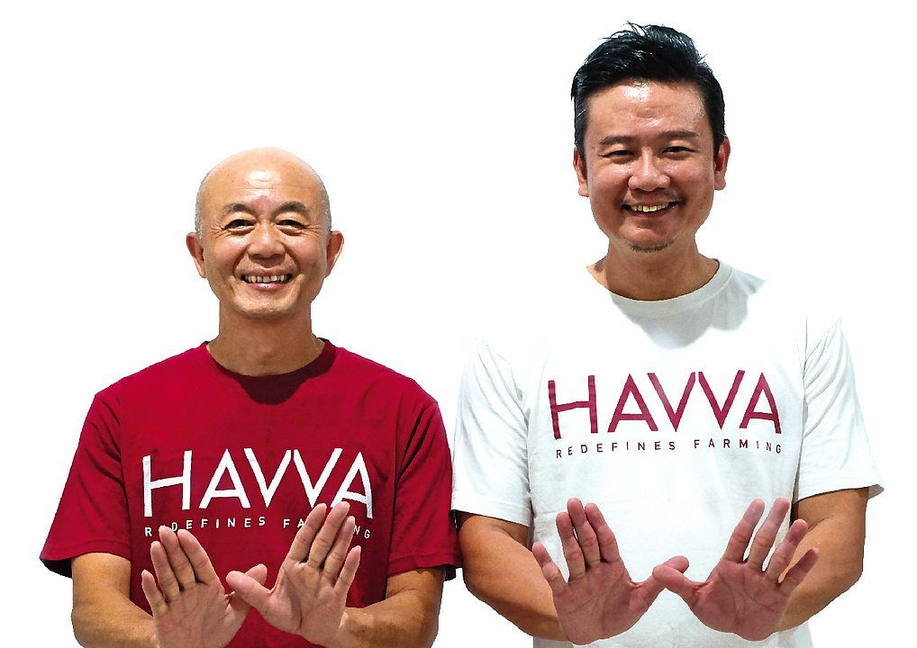Loo (left) and Tan co-founded HAVVA to promote urban farming in Malaysia.