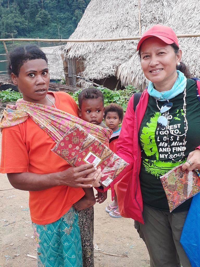 Safinar was taken aback by the poverty she saw the first time she stepped into an Orang Asli settlement.