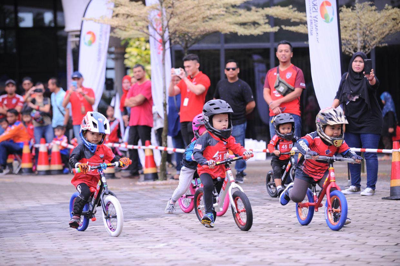 Sunway Iskandar Push Bike Fun Race in conjunction with World Environment Day.