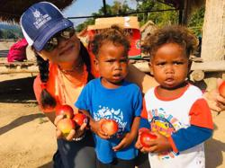 Doing all that she can to help Orang Asli children learn